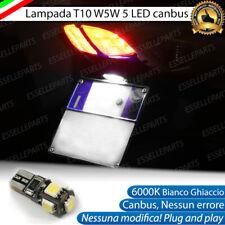 LAMPADA LUCE TARGA HONDA SH 300 CANBUS T10 W5W 5 LED ALTA LUMINOSITA' 6000K