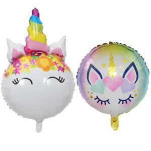 Unicorn Round / Horn Balloon