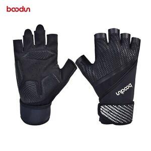 Men's Gloves Weightlifting Dumbbell Gym Protective Gloves Abrasion Resistant