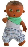 Spiel Puppe Trink Baby Näß Baby Fedor ca 21 cm von Paola Reina Art Nr 3587