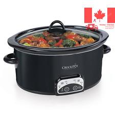 Crockpot SCCPVP400B-033 Smart-Pot Digital Slow Cooker Black
