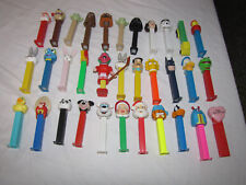 Pez Lot of 34 - Star Wars, Simpsons, Bugs Bunny and more
