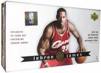 2003-04 Upper Deck  Lebron James 32 Card Sealed Rookie Boxed Set