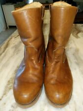 Vintage Timberland Footwear Sherpa lined  PECOS Leather  BOOTS. Size 11W. #11297