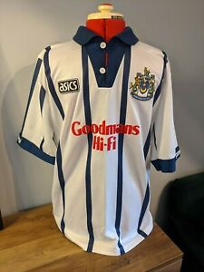 "Portsmouth Third Football Shirt 1994/95 Adults Asics Rare Retro M "" SYMONDS 5 """