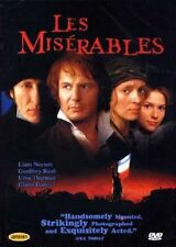 Les Miserables (1998) Liam Neeson, Geoffrey Rush DVD *NEW
