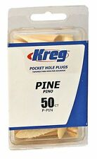 Kreg P-PIN Pine Plugs for Pockets, 50-Pack