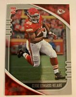 2020 Absolute Clyde Edwards-Helaire Rookie SP  #118 RC  Kansas City Chiefs