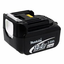 Akku für Werkzeug Makita BDF343 3000mAh Original 14,4V 3000mAh/43Wh Li-Ion Schwa