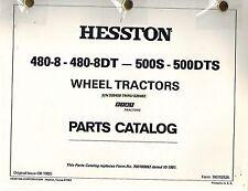 """FIAT 480-8 480-8DT 500S 500DTS TRACTORS PARTS MANUAL """"NEW"""" Ser 535458-535483"""