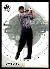 2002 SP AUTHENTIC GOLF TIGER WOODS #76SPA