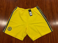 2014-15 Adidas Men's Chelsea Away Player Issue Soccer Jersey Shorts Large L