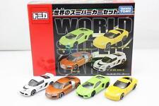 Takara Tomy Tomica World Super Car Speed 4X Set Audi Lamborghini Toys Diecast
