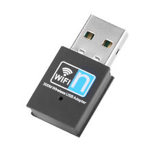 300M Mini USB 2.0 WiFi Adapter Dongle Wireless Network Card Receiver 802.11n/g/b