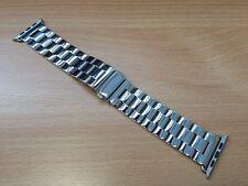 Clásico De Acero Inoxidable Brillante Hebilla Reloj correa para Apple Watch Serie 2 3 38 mm