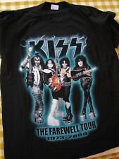 KISS FAREWELL TOUR shirt - pre-owned, XL GREAT CONDITION