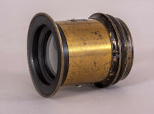 Small 12-inch Brass Lens of Unknown Design w/ Slot for Waterhouse Stops