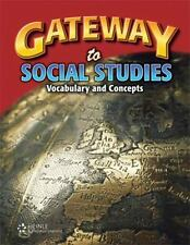 Gateway to Social Studies: Student Book, Hardcover by Barbara C. Cruz.