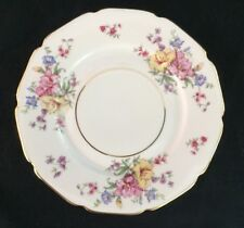 "Heinrich Pattern 16257 Bread & Butter Plate 6-1/2"" Lillies Gold Trim"