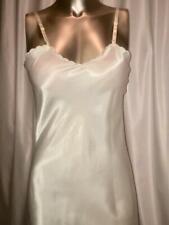 Lindsey Blake Ivory Plain Full Slip, Vtg Nwt Size 32 # 112116