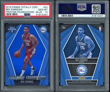 2016-17 Totally Certified Ben Simmons /99 PSA 10 Blue SP Franchise Foundations