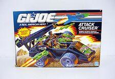 GI JOE ataque Cruiser Vintage Figura de acción vehículo Tanque MISB COMPLETO