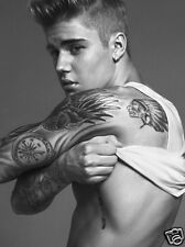 JUSTIN BIEBER*  QUALITY  CANVAS PRINT