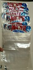 Lot of 10 Original Marvel multi mags plastic bag comic book holder Spider-Man