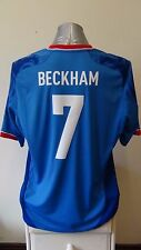 Team GB OLYMPIC FOOTBALL SHIRT JERSEY 2012 BECKHAM 7 XL