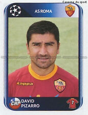 N°304 DAVID PIZARRO # CHILE AS.ROMA UEFA CHAMPIONS LEAGUE 2011 STICKER PANINI