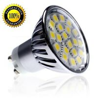 5050 SMD LED 4W GU10 Bulb 120V Warm White 2700K Dimmable - USA SHIP