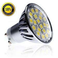 5050 SMD LED 4W GU10 Bulb 120V Warm White 2700K Dimmable - USA SHIP