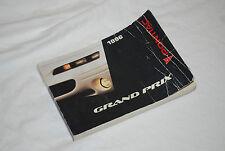 ★★1996 PONTIAC GRAND PRIX OWNERS MANUAL USER GUIDE- BOOK 96 GT GTP SE 3.4 3.1★