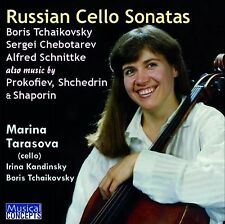 CD RUSSIAN CELLO SONATAS TARASOVA plays PROKOFIEV SHCHEDRIN SCHNITTKE SHAPORIN