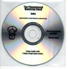 (AL803) The Phenomenal Handclap Band, Baby - DJ CD