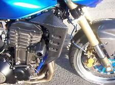 Kawasaki z1000 Fibre de Carbone Radiateur Côté Couvre 2003 2004 2005 Gbmoto