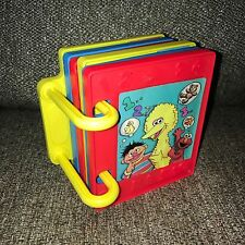 Rare Complete Play Doh Sesame Street Book Molds Numbers Counting Cookie Monster