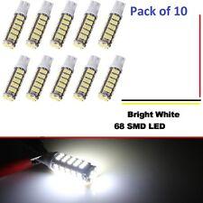 10 pack 12V DC 68 LED per bulb for Malibu landscape lighting  white-T10-T5 HQ