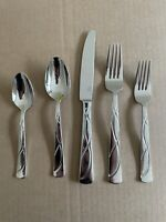 Lenox Vibe 5-Piece Flatware Set - 18/10 Stainless
