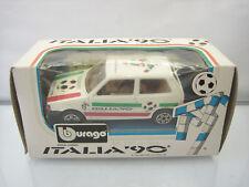 Diecast Bburago Fiat Uno Italia 90 Soccer No.4119 IT 1/43 Mint in Box