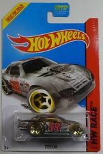 NEW Hot Wheels Stockar Treasure Hunt 2014 No 177 Clear Nascar Race Car TH Sealed