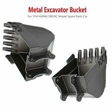 Metall Excavator Bucket Bagger Eimer für 1/14 HUINA 580 RC Modell Auto Zubehör