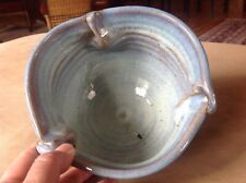 Vintage Michael Cohen Pottery Planter/Bowl Blue Green Drip Glaze