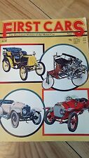First cars the illustrated history of the motor car printed 1976 no.1