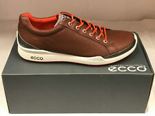 NEW ECCO BIOM HYBRID Mahogany/Fire Men's Golf Shoes 45 11-11.5 WERE $215