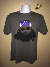 """ALSTYLE Grey Men's Medium Duck Dynasty """"Willie"""" T-Shirt"""