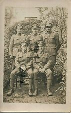 WW1 soldier group Canadian Infantry ? Canadian Expeditionary Force CEF France