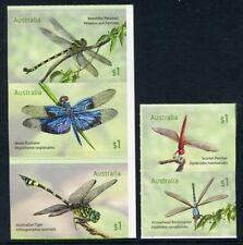 2017 Dragonflies -   Set of 5 Booklet Stamps