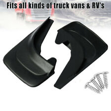 2PCS Universal Car ABS Black Mudflaps Mud Flap Accessories Body Protector Kit