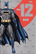 12th BIRTHDAY CARD - AGE 12 - BATMAN
